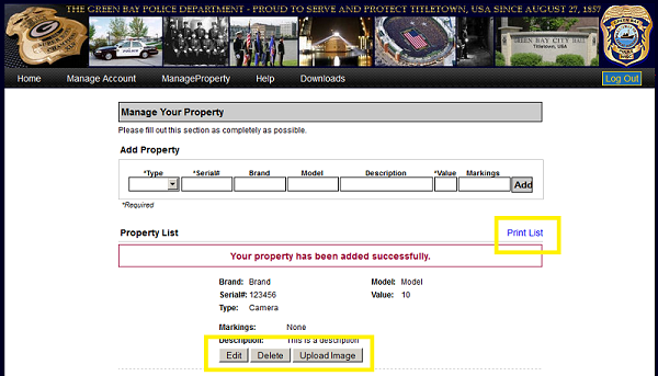 FAQ - Manage Property - Step 6
